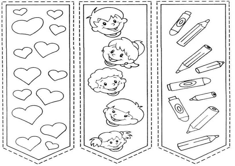 bookmarks 9 | Ausmalbilder Malvorlagen