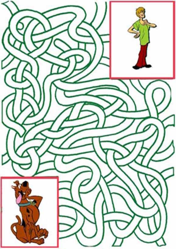 Labyrinth zum drucken 4