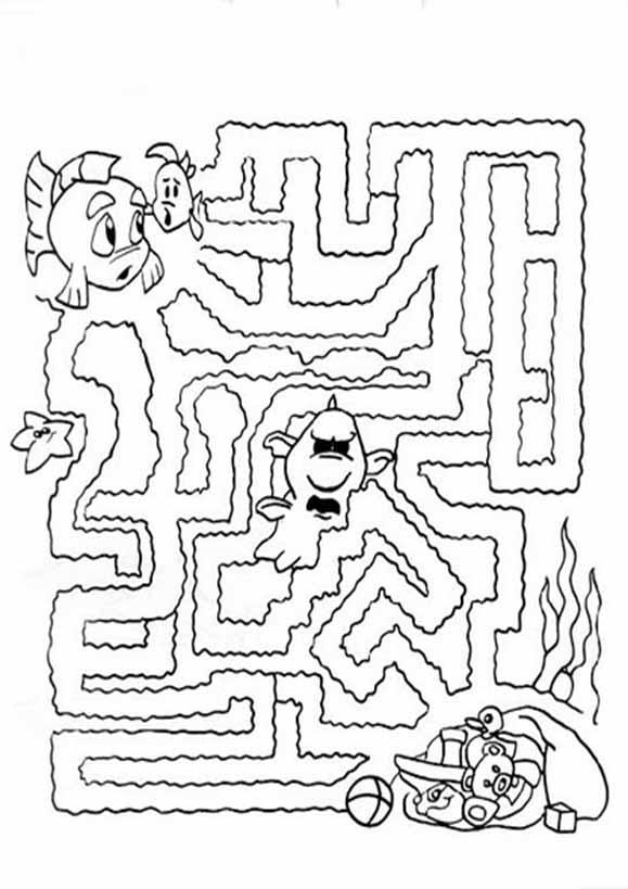 Labyrinth zum drucken 5