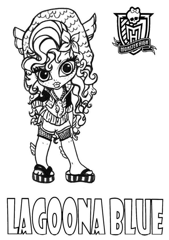 monster high baby ausmalbilder