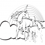 Pferde-24-Einhorn