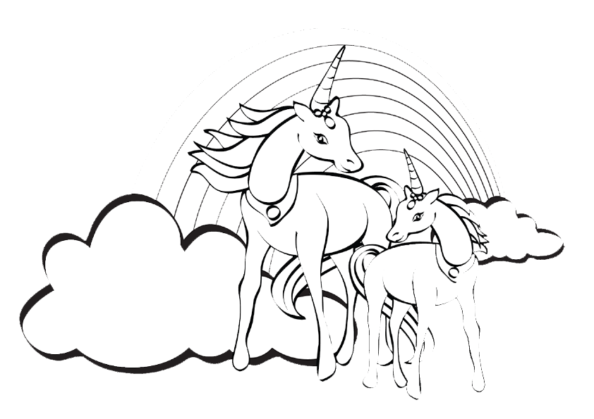 Malvorlagen Einhorn Pferde My Blog