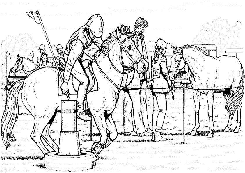 Ausmalbilder Pferde 51 Ausmalbilder Malvorlagen