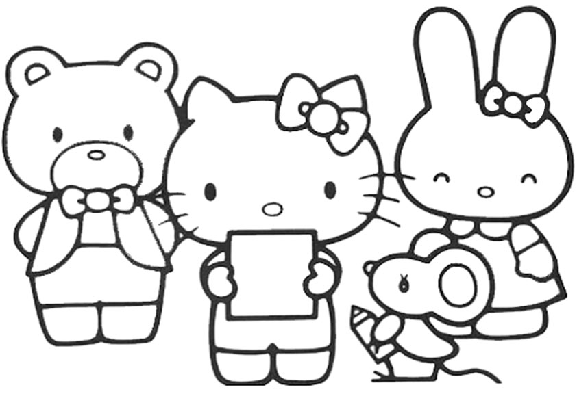 Ausmalbilder hello kitty 30