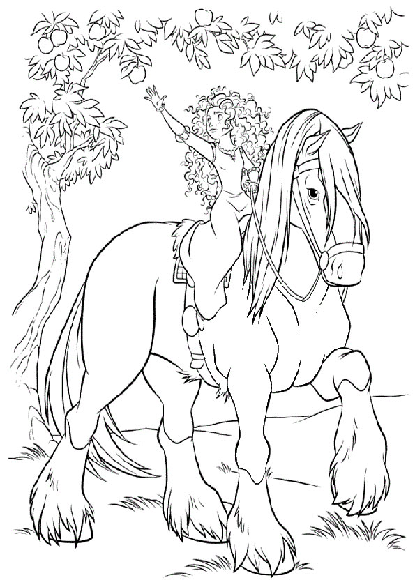 Images Of Snow White Coloring Pages