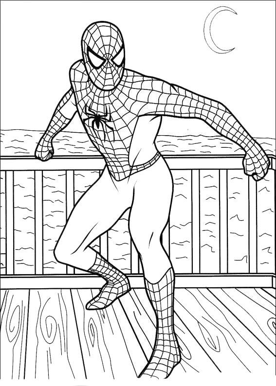 ausmalbilder spiderman