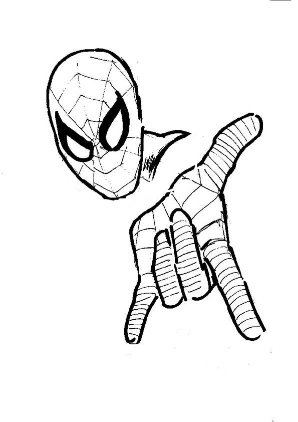 Malvorlagen ,Ausmalbilder, Spiderman-30