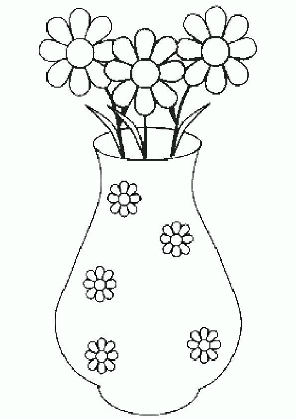 Ausmalbilder Blumen 8