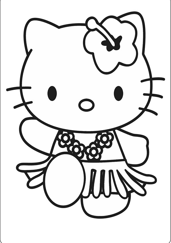 Ausmalbilder Hello kitty 31