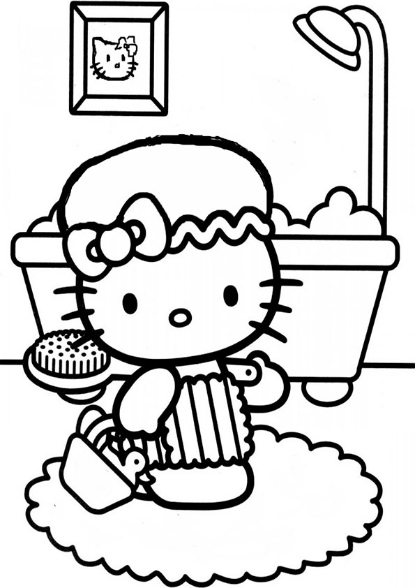 Ausmalbilder Hello kitty 33