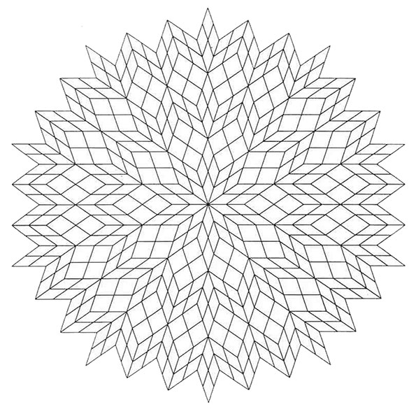 Ausmalbilder Mandala 20