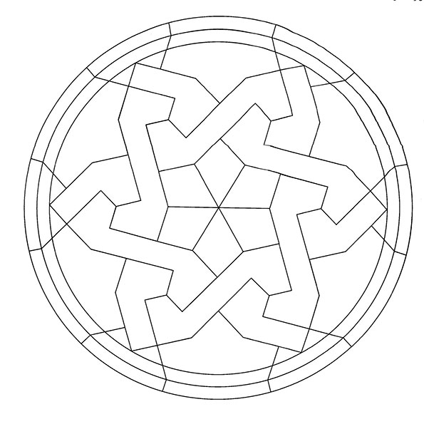 Ausmalbilder Mandala 30