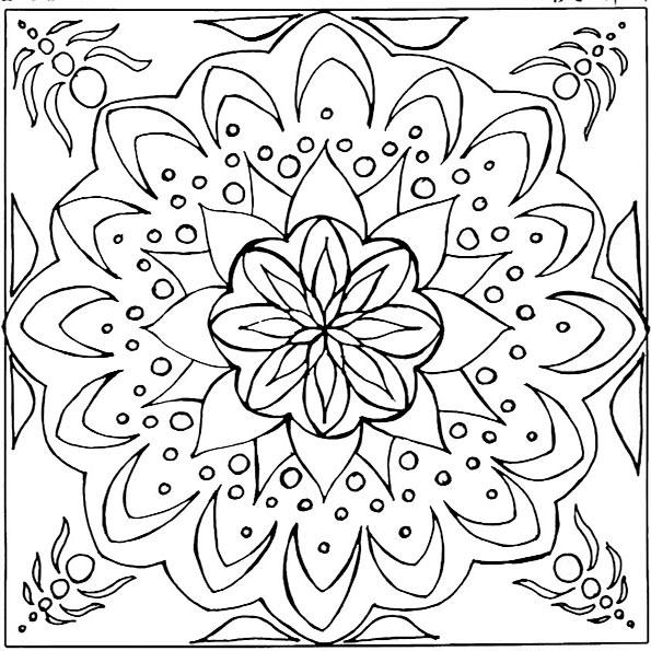 Ausmalbilder Mandala 9 Ausmalbilder Malvorlagen