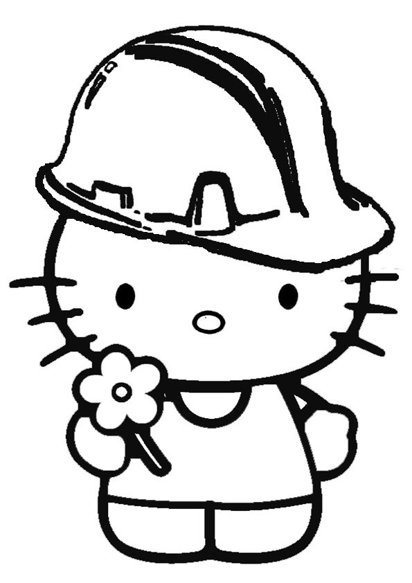 Ausmalbilder  Hello Kitty-39