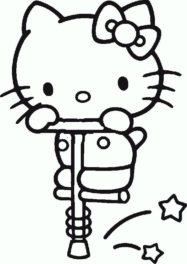 Ausmalbilder  Hello Kitty41