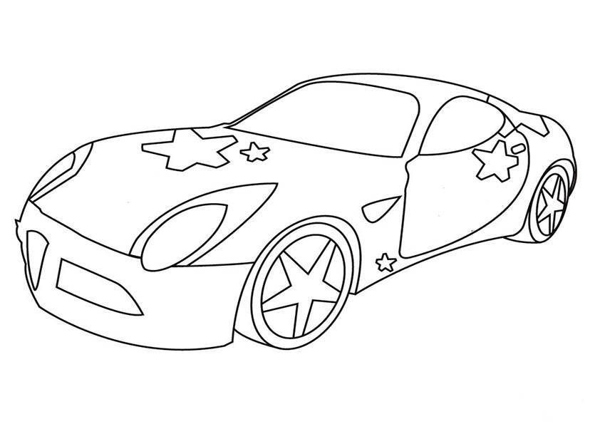 Ausmalbilder-Autos-5