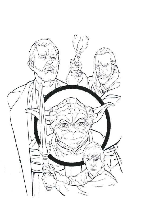 Ausmalbilder Star Wars-5