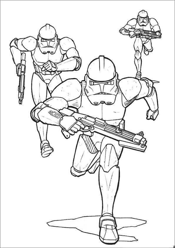 Ausmalbilder Star Wars-17