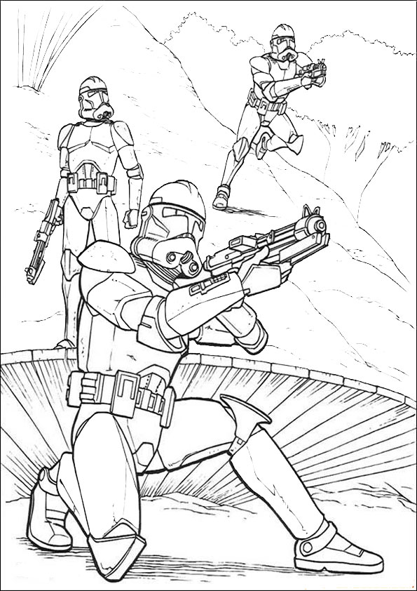 Ausmalbilder Star Wars 6 Ausmalbilder Malvorlagen