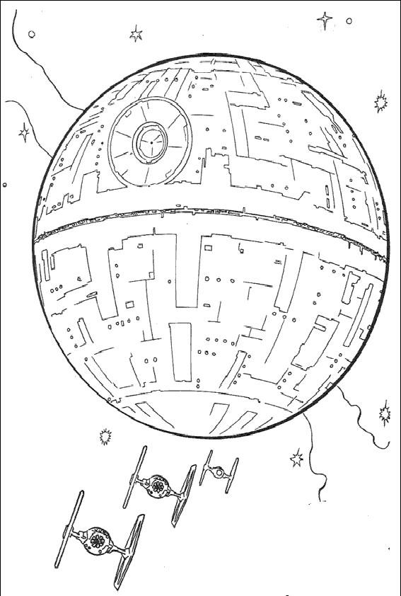 Ausmalbilder Star Wars-9