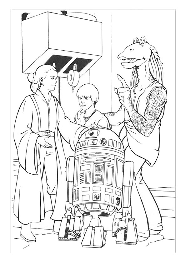 Ausmalbilder Star Wars-24
