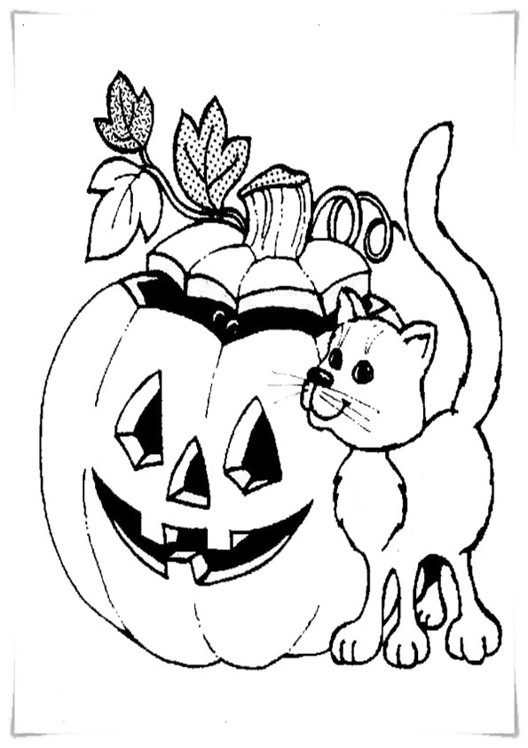 Ausmalbilder Halloween-3