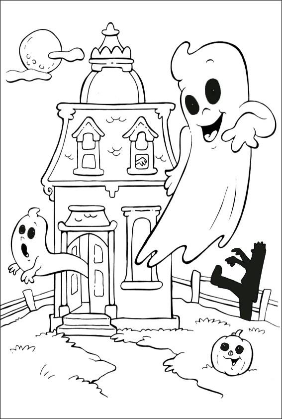 Ausmalbilder Halloween-31 | Ausmalbilder Malvorlagen