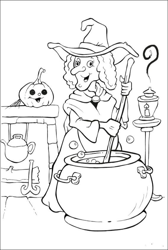 Ausmalbilder Halloween-33