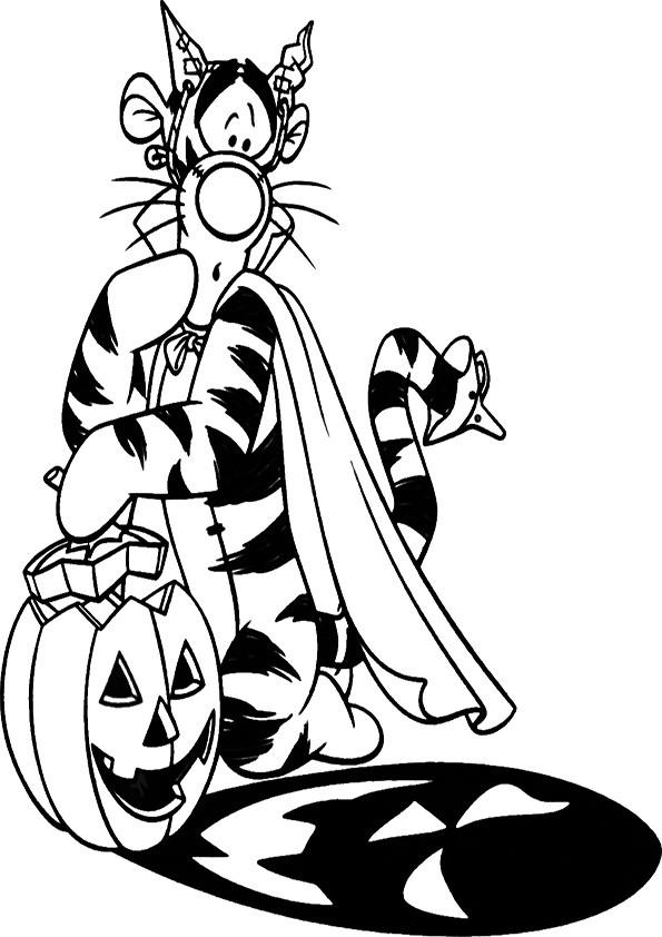 Ausmalbilder Halloween-41