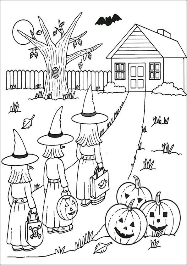 Ausmalbilder Halloween-9