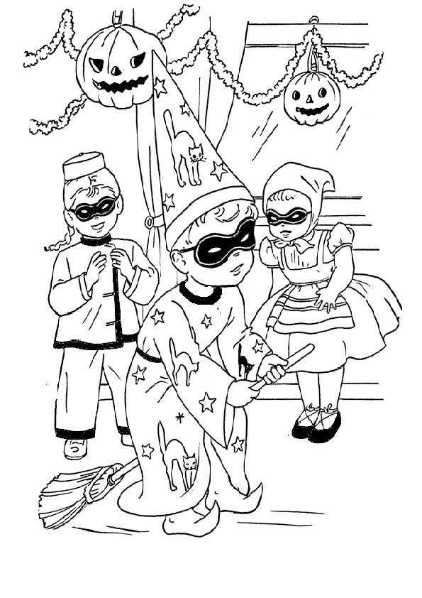 Ausmalbilder Halloween-44