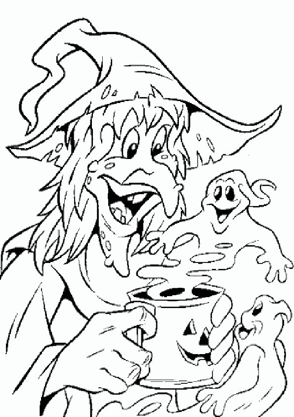 Ausmalbilder Halloween-47