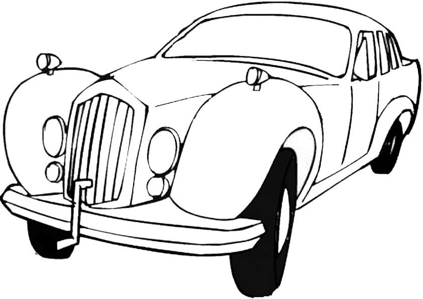 Ausmalbilder Auto-9