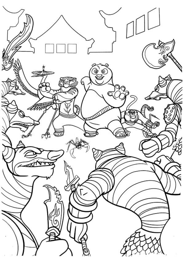 Ausmalbilder--Kung-Fu-Panda-18
