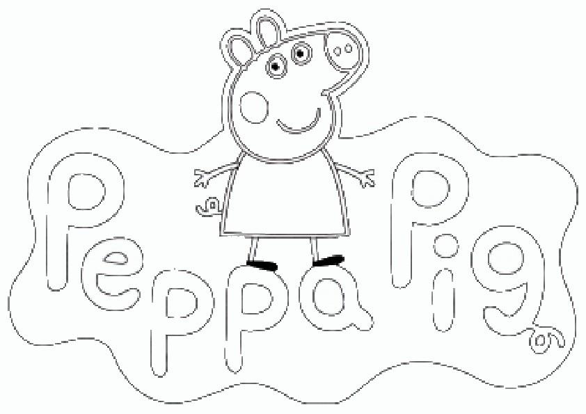 malvorlagen Peppa Pig | Ausmalbilder Malvorlagen - Part 2