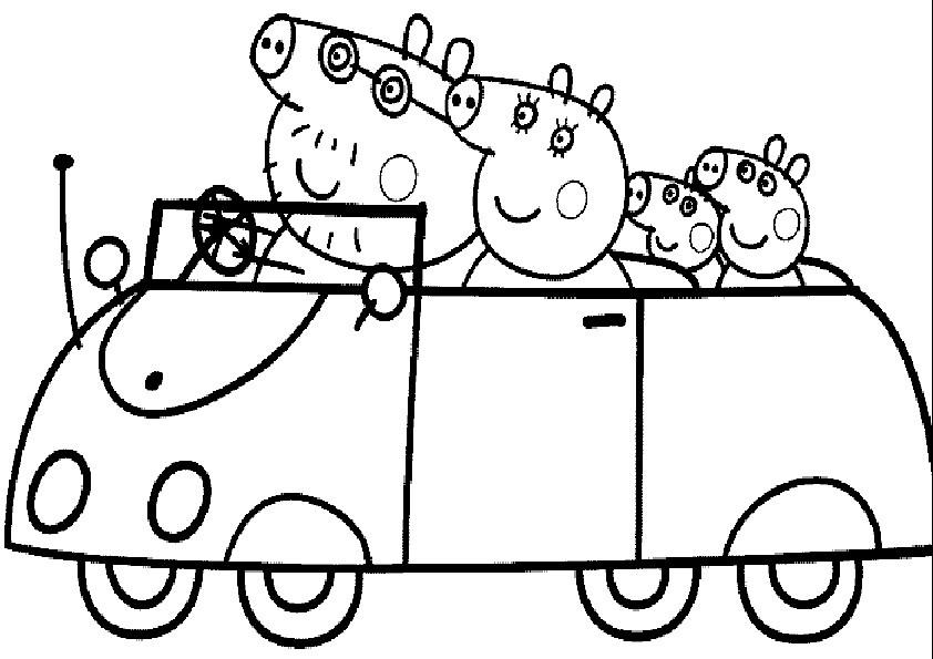 Tolle Peppa Pig Malvorlagen Für Kinder Zeitgenössisch - Ideen färben ...