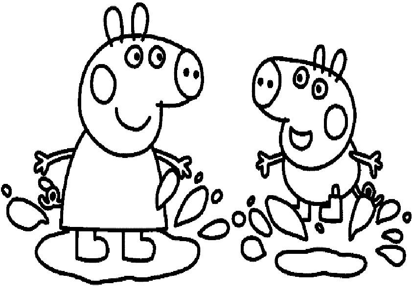 Peppa Pig Bunting Vorlage Zum Ausdrucken Conwertverppaga