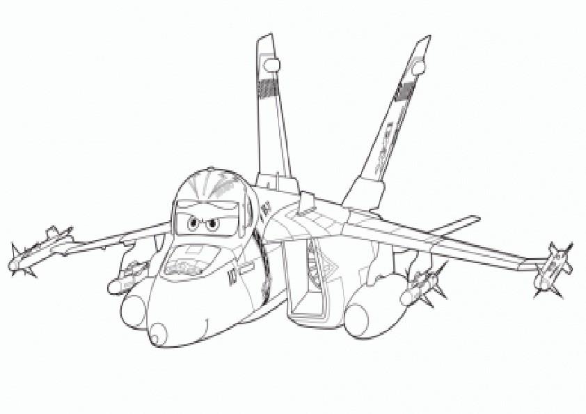 Ausmalbilder Planes-4