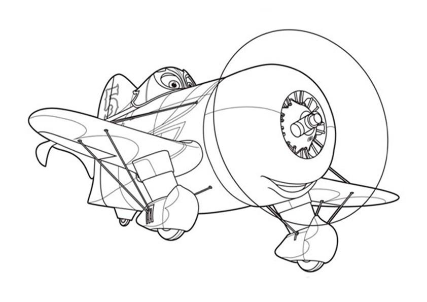 Ausmalbilder Planes-5