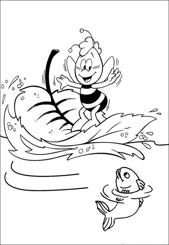 Ausmalbilder Biene Maja 9 Ausmalbilder Malvorlagen
