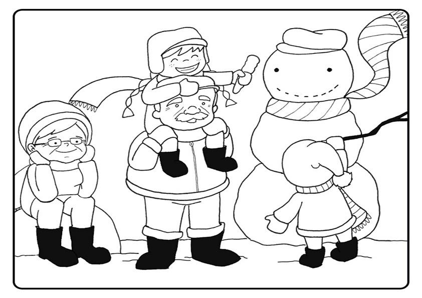 Ausmalbilder Weihnachten-100