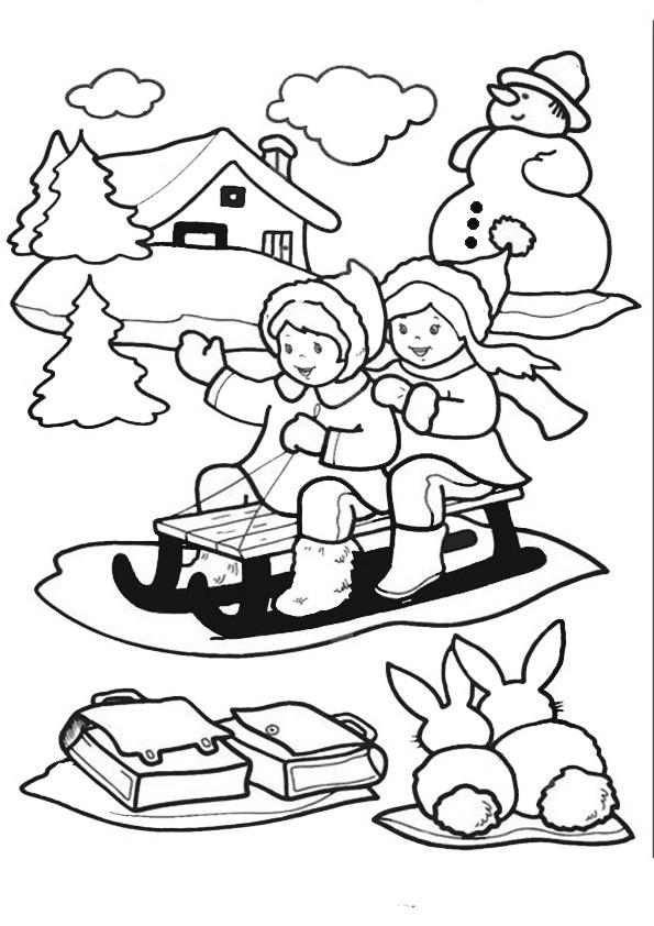 Ausmalbilder  Weihnachten-99