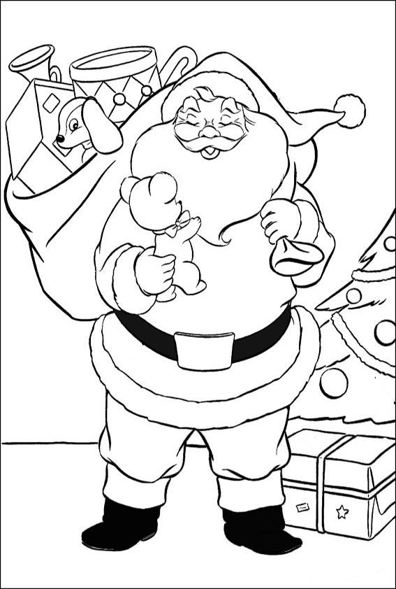 Ausmalbilder Weihnachten, Malvorlagen Weihnachten-53