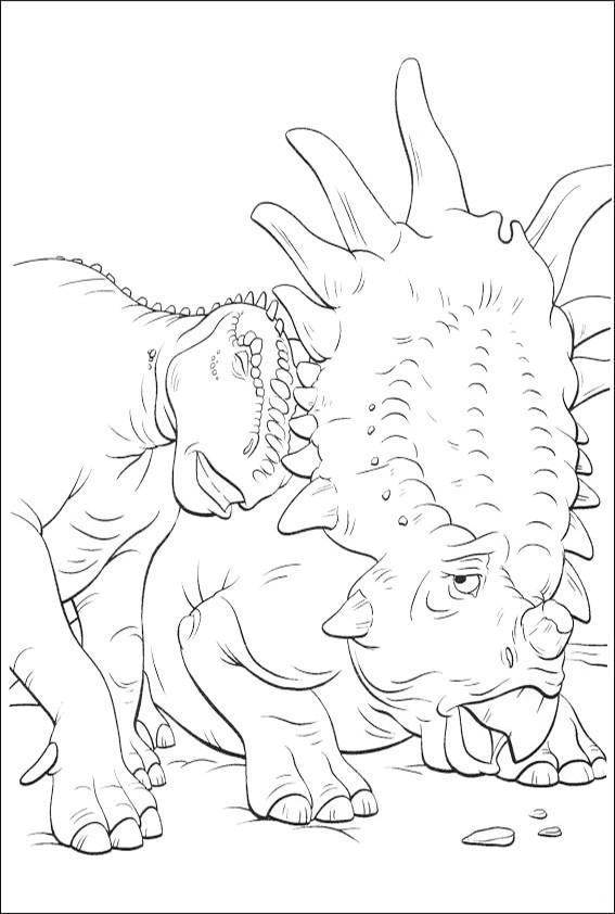 malvorlagen dinosaurier-19