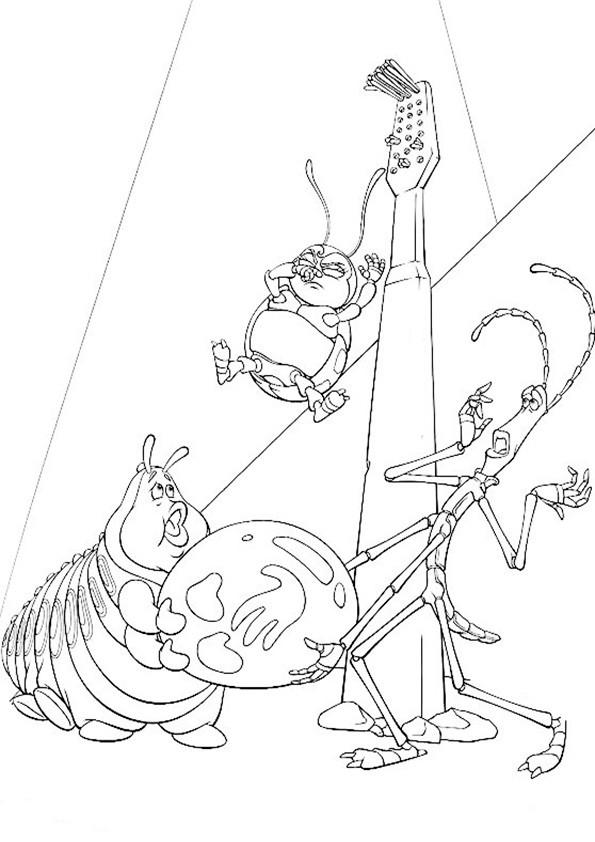 ausmalbilder das grosse krabbeln-1