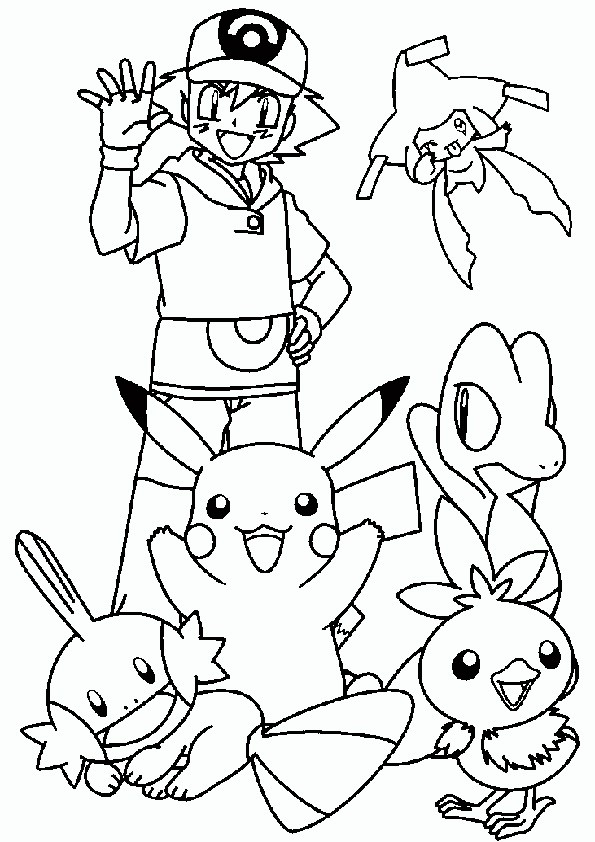 ausmalbilder pokemon- 2