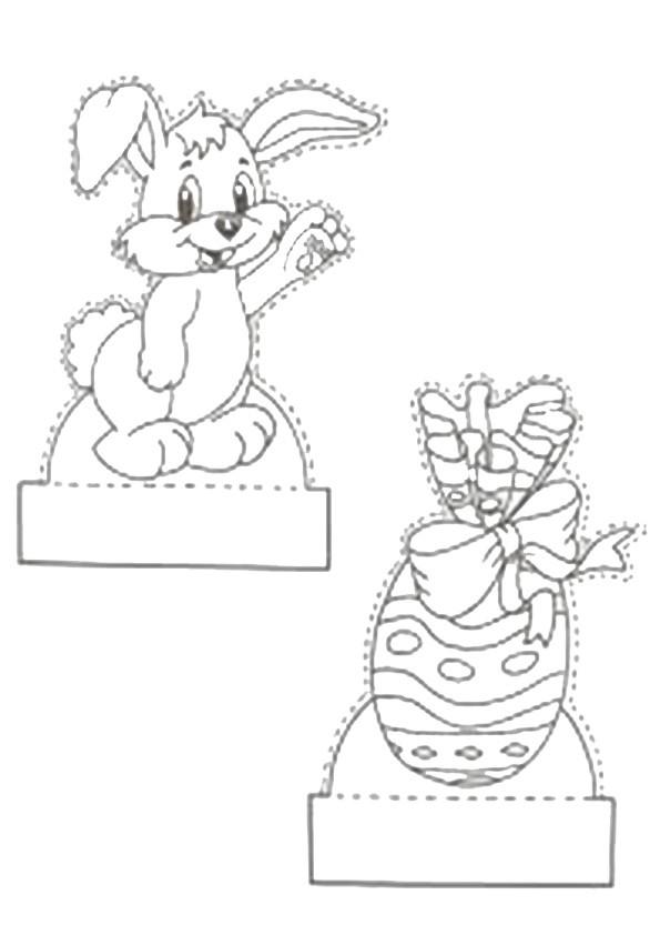ausmalbilder ausschneiden-ostern-2