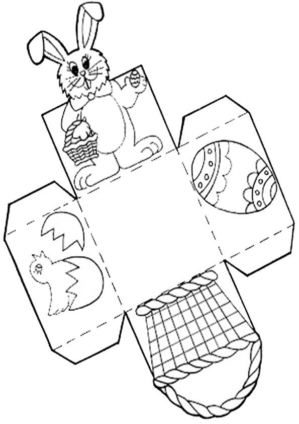 ausmalbilder ausschneiden-ostern-6 | Ausmalbilder Malvorlagen