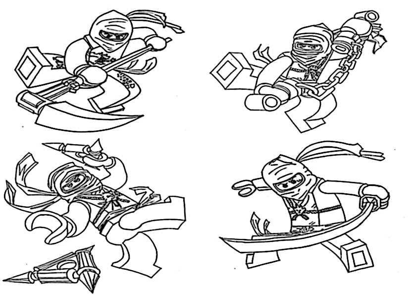 ausmalbilder ninjago-12