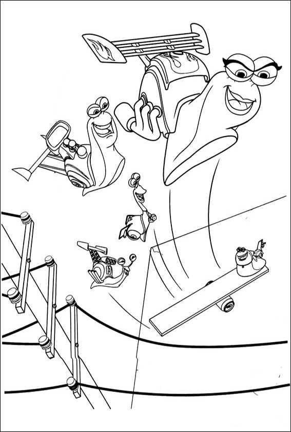 ausmalbilder turbo-8
